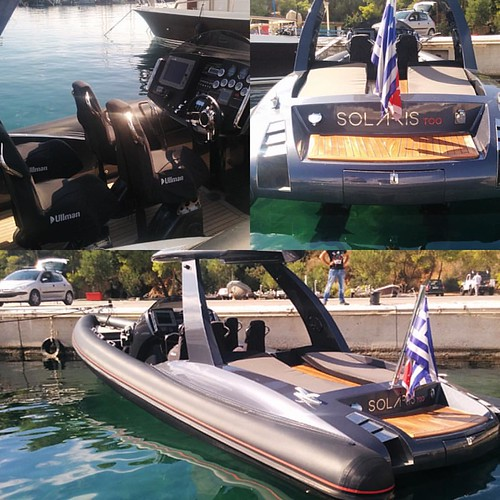 Pascoe Sy10 Solaries Equipped With 2×315 Yanmar Diesel Based in AThens!!! Refitted 2015 and looking brand new! #rentaboat #ribcruises #boat #rentaboat