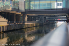 IMGP0277 (acornuser) Tags: uk reflection building london rooftop glass architecture modern garden pentax docklands stell crossrail canadasq