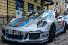Porsche (Le Robson) Tags: auto road sports car racecar outdoor rally meeting racing porsche vehicle kraków cracow sportcar carmeeting