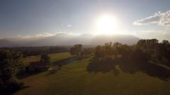 tramonto (Dario Baietto) Tags: sunset casa strada tramonto nuvola campagna cielo phantom drone phantom2 phantom3 dji gopro hero3 hero4