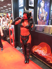 Purgatori (Docking Bay 93) Tags: new york comics comic chaos cosplay vampire devils goddess evil entertainment dynamite ernie publishing due con sakkara 2015 nycc nycc2015