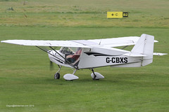 G-CBXS - 2002 build Best Off Skyranger, visiting Barton with some new black decals applied (egcc) Tags: manchester barton microlight erith cityairport skyranger bestoff egcb rotax912 gcbxs theinceskyrangergroup