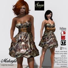 Sage - Makayla (By Sage Pexie) Tags: sage slfashion secondlifefashion