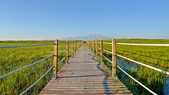 Sultan Marshes& Erciyes Mountain (drstar.) Tags: road mountain nikon flickr d610 erciyes flickrturkey sultanmarshes