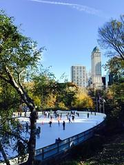 Wollman Ice Skating Rink #centralparknyc (olegproninluxuryst) Tags: centralparknyc