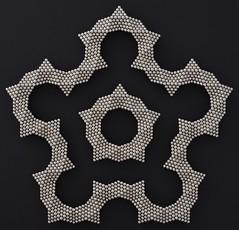 """Fractal Pentagonal Rings of Octahedra 1 <a style=""""margin-left:10px; font-size:0.8em;"""" href=""""http://www.flickr.com/photos/94129525@N07/22899366419/"""" target=""""_blank"""">@flickr</a>"""