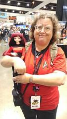 Ensign Amora Yuri from Star Trek:TNG (Sticksara) Tags: startrek dollfie startrektng dollfiedream comikaze amorayuri