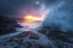 Thunder Cove [Kauai, HI] (Majeed Badizadegan) Tags: waves kauai queensbath