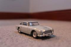 Aston Martin DB5 2 (grahamrobertson1993) Tags: car closeup toy carpet grey james model close martin bond aston 007 db5