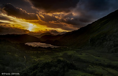 Llyn Gwynant as the Sun Sets (Paul Sivyer) Tags: snowdonia llyngwynant paulsivyer wildwalescom