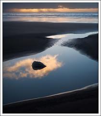 Mirroring the sky (mistymornings99) Tags: pembokeshire beach cloud water refelection amroth coast pools rocks
