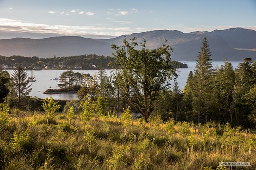 View to Plockton from Duncraig.