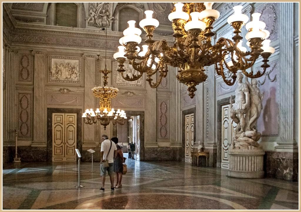 ... stucchi lampadari italia italy campania caserta vanvitelli borboni