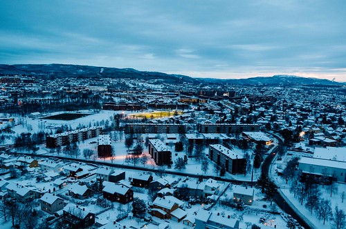 Trondheim from above II
