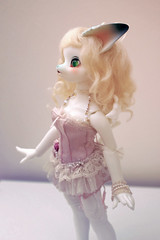 Aileen Doll Polymorph Lucy (Damasquerade) Tags: bjd aileendoll polymorphlucy anthro cat doll balljointdoll clothes momoko