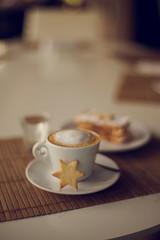 Star (ninasclicks) Tags: coffee cookie star