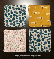 6713-Individuales-MugRug (Silvia LGD (Little Green Doll)) Tags: crafts patchwork fabrics telas dashwoodstudio handmade hechoamano individual mantelitoindividual placemat mugrug posavasos coaster individuales linen lino