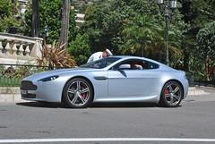 Aston Martin V8 Vantage N400 (D's Carspotting) Tags: aston martin v8 vantage n400 monaco grey 20130731 ti25719