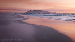 Table Mountain Sunset Strollers (Panorama Paul) Tags: paulbruinsphotography wwwpaulbruinscoza southafrica westerncape capetown tablemountain blaauwbergbeach waves beach sunset nikond800 nikkorlenses nikfilters