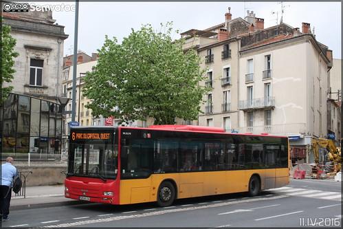 Man Lion's City - Transdev Urbain / Béziers Méditerranée Transports n°513