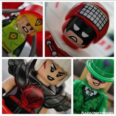 70903 Rogues (WattyBricks) Tags: kite man calendar magpie riddler edward nygma margaret pye rogues gallery batman lego movie gotham julian gregory day charles chuck brown 70903 tlbm