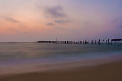 Mystical Sea (abdul8423) Tags: alleppey beach sunset seascape