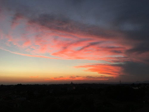 tramonto a Xagarolo