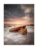 Seahenge (Mike Hankey.) Tags: sunrise published seascape monavale midtide cloud north