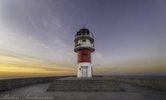 Puesta de sol en Cabo Ortegal (Rubén Santamaría Fotografía) Tags: cabo ortegal puesta de sol atardecer paisaje galicia faro cariño sunset landscape lighthouse
