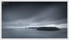 descending (Stuart Leche) Tags: atlanticocean channel clouds coast dusk irishsea island landscape littlestopper longexposure pembrokeshire rocks sea seascape stuartleche waves