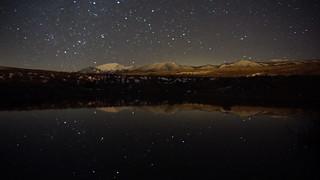 Winter Evening Under the Sierra Nevada