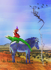 Four Amigos (bethrosengard) Tags: bethrosengard photomanipulation digitallyenhanced photoart digitalmagic digitalart