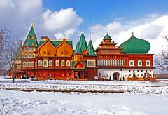 Kolomenskoye Palace, Moscow (Andrey Sulitskiy) Tags: russia moscow kolomenskoye россия москва коломенское