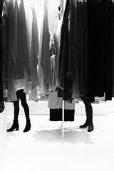 Fitting (Ivan Rigamonti) Tags: monochrome streetphotography women fitting