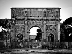 Arch of Constantine in Rome (Halibel14) Tags: rome italy archofconstantine city lightroom olympus epl1