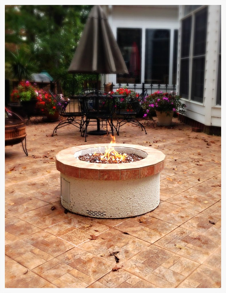 Peterson OC-34 Gas Fire Pit. Chattanooga, Tn.