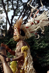 28-144 (ndpa / s. lundeen, archivist) Tags: man color film face festival fiji 35mm necklace costume clothing drum traditional nick feathers culture makeup suva southpacific drummer warrior 28 tradition 1970s facepaint performer 1972 necklaces headdress dewolf oceania fijian pacificartsfestival pacificislands festivalofpacificarts southpacificislands nickdewolf photographbynickdewolf festpac pacificislandculture southpacificfestival reel28 southpacificartsfestival southpacificfestivalofarts fiji72