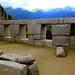 Stone structures at Machu Picchu, Peru
