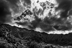 (Michele Montleone) Tags: sky bw white storm black clouds landscape dramatic lowkey paesaggio