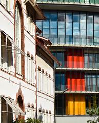 Old meets new (Maria Eklind) Tags: building architecture hospital sweden emergencyroom malm sus akuten sknesuniversitetssjukhusmalm
