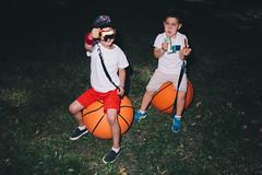 (almehag) Tags: basketball twins sweden stockholm lollipop grnalund
