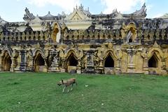 Maha Aungmye Bonzan, Ava, Myanmar (Birmania) D810 1748 (tango-) Tags: ava burma myanmar mandalay birmania    menuokkyaung  avatemples mandalaypagodas