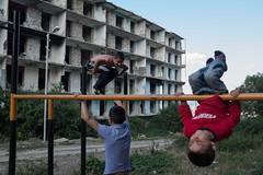 Playground in Nagorno-Karabakh (Teodoras Grigaliunas) Tags: life travel game kids child play russia soviet armenia russian shushi ussr postsoviet karabakh artsakh nagorno ssrs