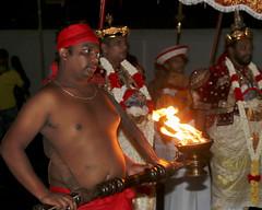 Kandy Perahera (IMG_3085b) (Dennis Candy) Tags: man heritage festival spectacular temple fire official joy culture happiness buddhism parade srilanka ceylon procession tradition serendipity hinduism kandy incense perahera torchbearer serendib serendip nilame esala