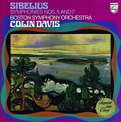 Sibelius Symphonies 5 & 7 - Davis Philips 1 (sacqueboutier) Tags: ballet music vintage vinyl lp classical symphony vinylporn vinylnation