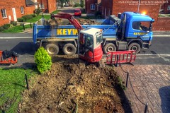 Our Driverway `10th Sep 2015 (AreKev) Tags: keyway dumptruck truck digger soli rubble aztecpaving aztec paving ourdriveway old driveway refurbishment whitchurch bristol england uk hdr photomatixpro sonydschx400v tonemapped sonycybershot sony cybershot sonydscnx400v dschx400v