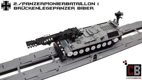 fcdd1655720a Lego Custom Bundeswehr Pionier Panzer Biber CB09 - a photo on Flickriver