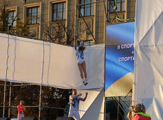 Flying girl (GrusiaKot) Tags: boy girl flying dancing air ukraine kharkov rocknroll kharkiv ucraina acrobatico