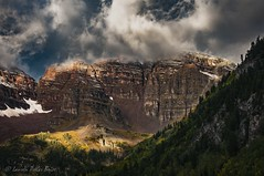Maroon Bells Peaks South Side (Laurie-B) Tags: autumn usa mountain west fall america landscape us colorado flickr unitedstatesofamerica north central september american northamerica mountainside aspen maroonbells northamerican 2015 dpca