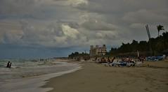 Beach Surf I (evanlochem) Tags: ocean autumn fall beach america mexico sand october surf gulf florida cuba stormy atlantic monsoon latin tropical caribbean varadero straits